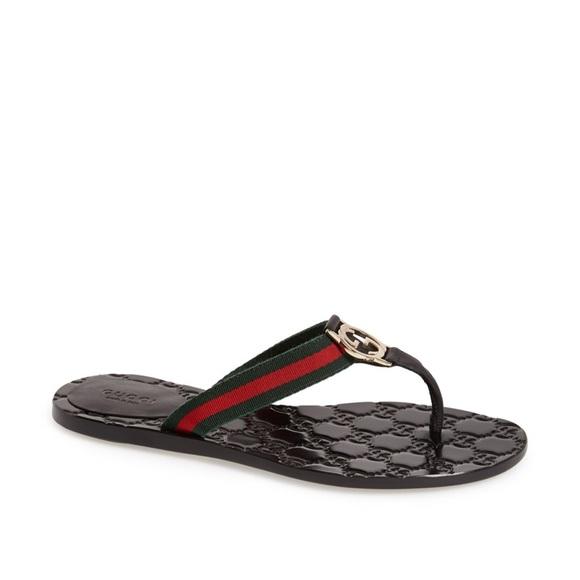 b62c2c725e3e Gucci thong sandals
